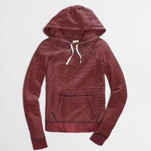 J.Crew Factory Striped Pullover Hoodie